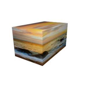 Cremation Urn - Sea Side Ash Casket