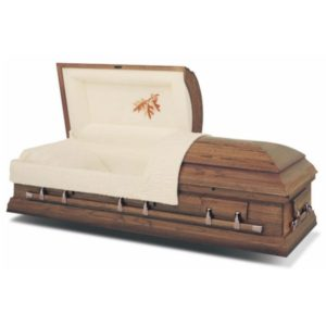 Autumn Oak Hardwood Casket coffin