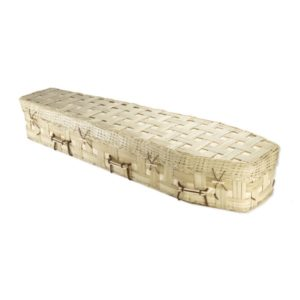 Bamboo Lattice Traditional Coffin
