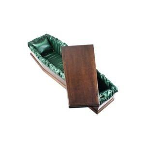 DIY - Flat pack coffin - Green Liner