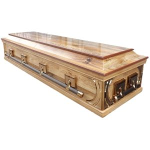 Silver Dutch Style Coffin