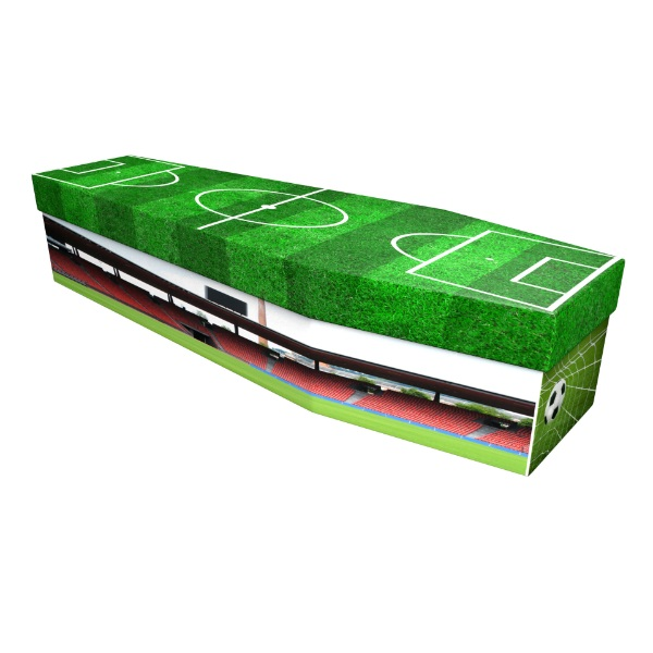 Football Cardboard Coffin - Price Reduced!