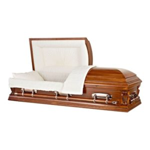 Cherry Coffin Casket