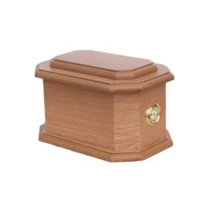 Cremation Urn - Traditional Octagonal