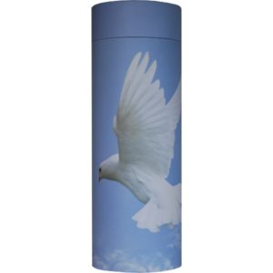 Cremation Urn - Dove Ash Scatter Tube