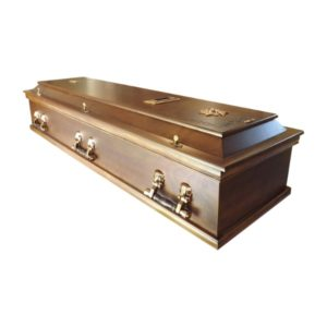 Dutch style coffin