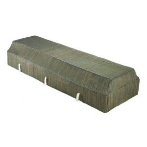 Fabric Coffin - Banana Leaf - Green