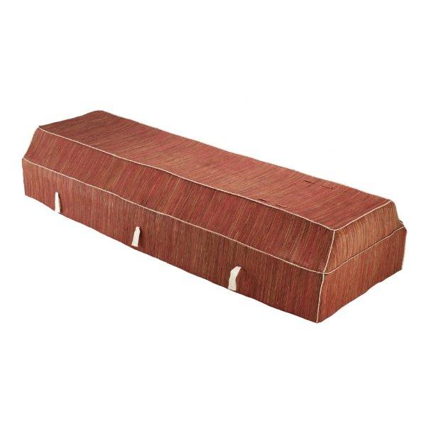 Fabric Coffin - Banana Leaf - Pink