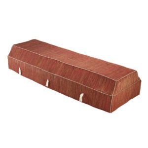 Fabric Coffin - Banana Leaf - Red