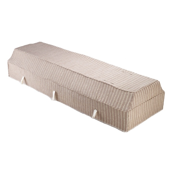 Fabric Coffin with Cocoa Fragrant Root Cover