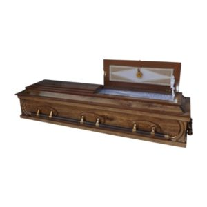 Four tier casket
