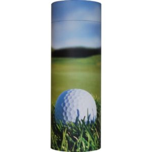 Cremation Urn - Golf Ash Scatter Tube