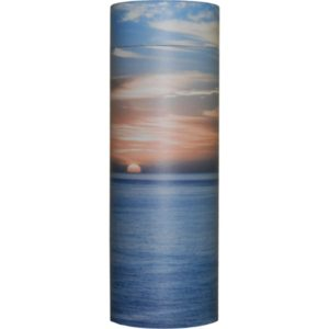 Cremation Urn - Ocean Sunset Ash Scatter Tube