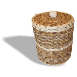 Cremation Urn - Round Pandanus