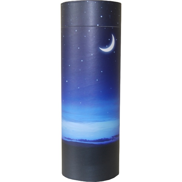 Cremation Urn - Starry Night Ash Scatter Tube