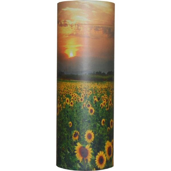 Cremation Urn - Sunflower Ash Scatter Tube