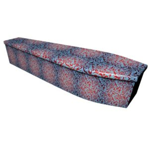 Tribal Print Printed Wooden Coffin