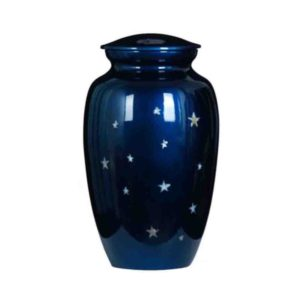 Cremation Urn - Blue Star