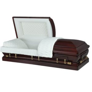 Viscount - Wooden American Casket Coffin