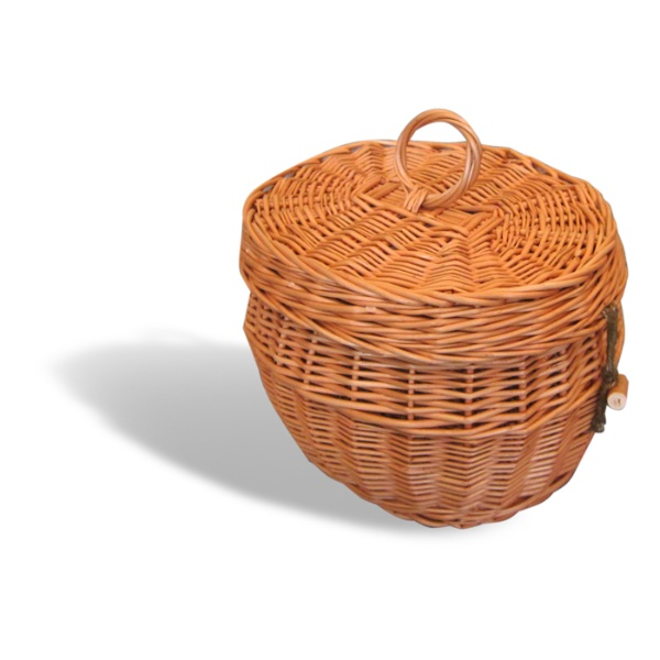 Cremation Urn - Round Willow