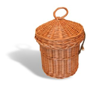 Cremation Urn - Willow Round Upright