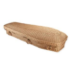 Willow Pod Coffin - Natural - Price Reduced!