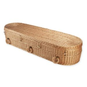 Willow Rounded Coffin - Price Reduced!