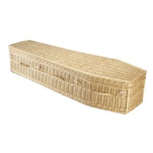 Willow Traditional - Natural Coffin - Price Reduced!
