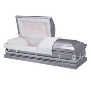 Apollo Silver - Steel American Casket Coffin