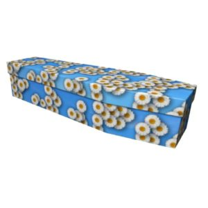Daisy Cardboard Coffin