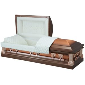 Classic Copper - Steel American Casket Coffin
