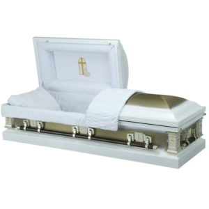Devotion - Steel American Casket Coffin