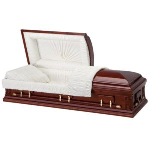 Eurocraft - Wooden American Casket Coffin