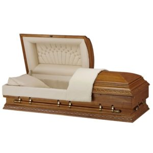 Heritage Plus - Wooden American Casket Coffin
