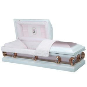 Mercedes - Steel American Casket Coffin