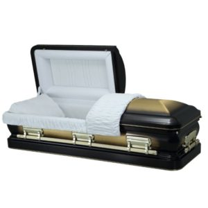 Paragon Gold - Steel American Casket Coffin