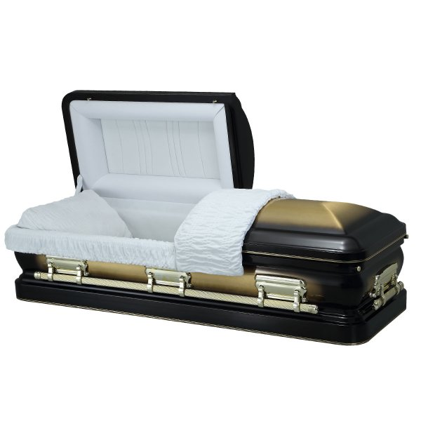 Paragon Gold - Steel American Casket Coffin