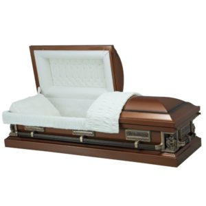 Passion of Christ - Steel American Casket Coffin