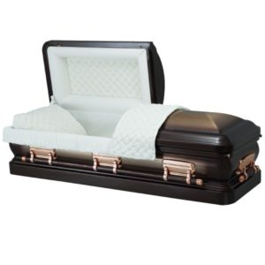 Stella Quartz - Steel American Casket Coffin
