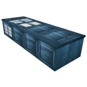 TARDIS , Dr Who Police Box Coffin