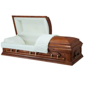Tribute Hardwood - Wooden American Casket Coffin