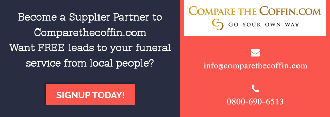 Become a supplier partner of Comparethecoffin.com