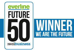Everline Future 50 Winner's Badge