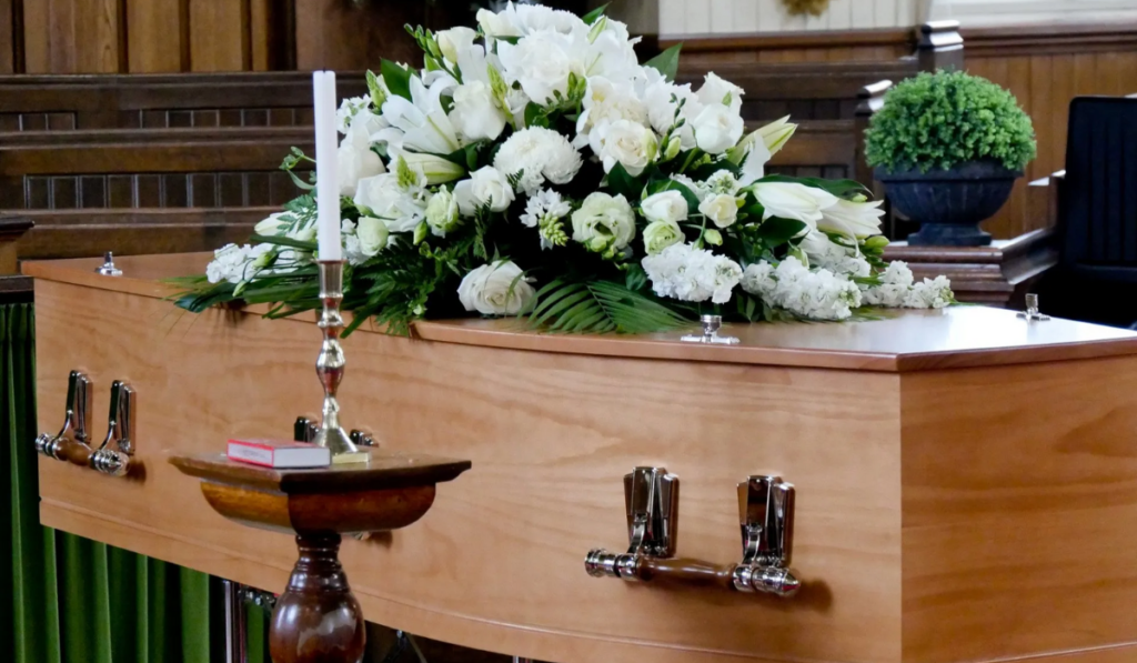 Favourite Flower in funeral